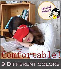 1/2/4/6 PCS Eyepatch Blinder Winker Eyeshade Sleeping Pure Silk Eye Mask Goggles