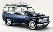 Volvo PV445 Duett 1958 Classic Swedish Car Vintage Poster Print Retro Style Ad