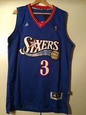 camiseta de triantes nba basket Allen Iverson jersey camiseta Philadelphia 76ers