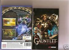 GAUNTLET SEVEN SORROWS PLAYSTATION 2  PS2 PS 2 RETRO 7