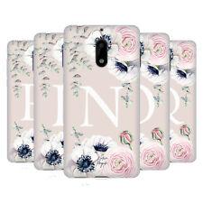 NATURE MAGICK FLORAL MONOGRAM PINK FLOWERS 2 SOFT GEL CASE FOR NOKIA PHONES 1