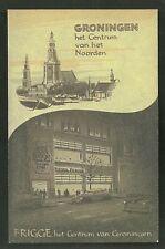 Grand Hotel Frigge Cabaret Groningen Netherlands 50s