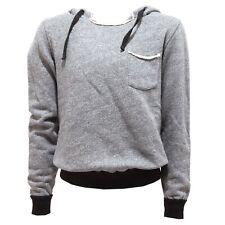1995T felpa bimbo PAOLO PECORA grigio melange sweatshirt kid