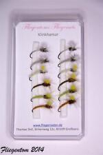 Fliegentom - Assortiment de 12 mouches - Klinkhammer/Klinkhamar mouche sèche