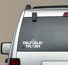 Oilfield Trash Tower Decal Sticker turbo diesel oil rig mine