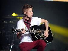 Justin Bieber Guitar Pop Music Singer  Giant Wall Print POSTER