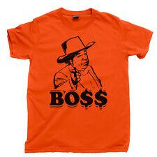 DUKES of HAZZARD T Shirt Boss Hogg Roscoe Good Ol Boys Waylon Jennings Moonshine