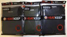 HEAT KEEP HEATKEEP MEN'S MEDIUM WEIGHT RIBBED LONG SLEEVE CREW NECK  - $38 MSRP