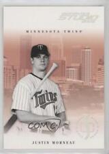 2005 Donruss Studio Proofs Silver #172 Justin Morneau Minnesota Twins Card
