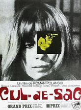 Cul de sac Roman Polanski cult Movie poster print
