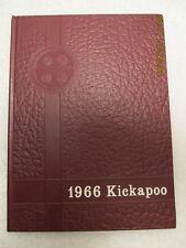 1966 Yearbook Owensville High School IN 1st Thru 12th