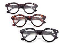 TN03  Stylish Vintage Round Lens Unisex Reading Glasses 2017 Fashion+1.5+2.0+2.5