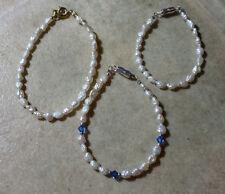 Little Girl/Child Freshwater Pearl Bracelets Gold Fill Gold/Silver Plate $5.25+