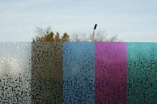 (16,66€/qm) statische Fensterfolie Dekor Sichtschutz selbsthaftend 90cm breit-03