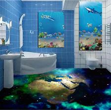 3D Blue Earth Stars 746 Floor WallPaper Murals Wall Print Decal 5D AU Lemon