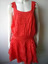 Diesel Rosario Kleed Kleid Dress Jurk Skirt Neu Rot  XS-S-M