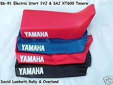 Yamaha XT600 Tenere 1VJ 3AJ 86-92 Seatcover Coprisella Sitzbezug Housse de Selle