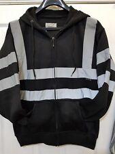 Hi Vis High Visibility Sweatshirt Hooded Jumper Fleece Workwear Hoodie S-3XL