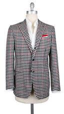 New $6000 Luigi Borrelli Red Cashmere Sportcoat - (LBSPTC132090)