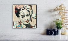 Frida Kahlo Portrait Collage Print / Modern Art / Collage / Wall Decor