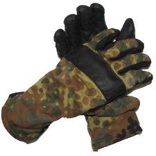 Genuine German army flecktarn camo combat gloves BW military issue all purpose