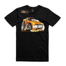 T-shirt Dukes of Hazzard Charger, Muscle cars. AS Colour shirt car movies.