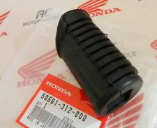 HONDA XL 185 S 200 600 R PEDANE GOMMA ANTERIORE conducente in gomma rubber step front