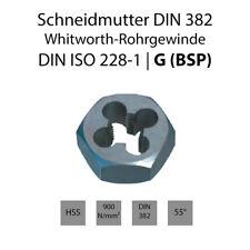 Schneidmutte EN 24231 - Whitworth-Rohrgewinde - DIN ISO 228-1 - G  ( BSP )