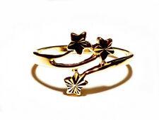 Damen Ring June, Metall-Legierung, Gold plattiert