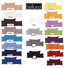 Bellana Mako Jersey Kissenbezug 40x40 40x60 40x80 cm 20 Farben