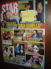 Star Mag.BELEN RODRIGUEZ,MICHELLE HUNZIKER,LUCA ARGENTERO,EROS RAMAZZOTTI,aaa