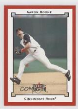 2002 Fleer Premium Star Rubies #SR181 Aaron Boone Cincinnati Reds Baseball Card