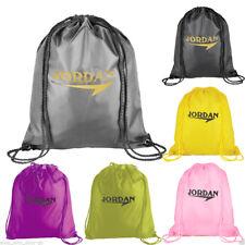 Premium School Drawstring Book Bag Sport Gymsac Swim PE Backpack