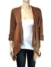 NWT Charter Club Roll-Tab-Sleeve Shawl-Collar Sweater Cardigan S, XL Reg.$89