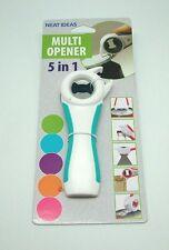 Multi Opener 5-1 opens - jars - tins - bottles 5 colours NEAT IDEAS
