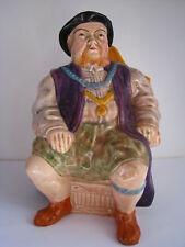 PORCELAIN FIGURINE KING HENRY VIII MECHANICAL MUSIC MUG JUG Wain & Sons England