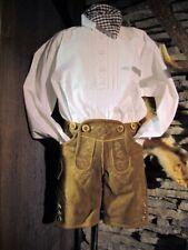 costume pour enfant CHEMISE Traditionelle traverse pfoad blanc gr 62 -176 Z