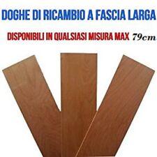 DOGHE LARGHE DI RICAMBIO PER RETI LETTO IN LEGNO-TUTTE LE MISURE-LARGHEZZA 17 cm