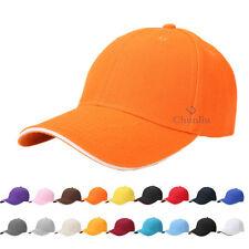 regolabile tinta unita Baseball Cappellino con visiera HIP-HOP STILE camionista