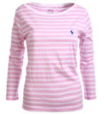 Polo Ralph Lauren Damen U-Boot Kragen Langarm Shirt Longsleeve Damenshirt  XS-XL