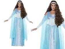 Medieval Doncella Mujer De Lujo Disfraz De Reina Tallas 8-22