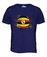 UGANDA FOOTBALL MENS T-SHIRT TEE TOP GIFTWORLD CUP SPORT