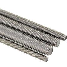 304 Stainless steel M5-M16 Left Hand Threaded Screw Rod 100-500mm Cut