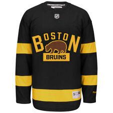 Boston Bruins Reebok NHL Men's Premier 2016 Winter Classic Jersey Vintage Retro