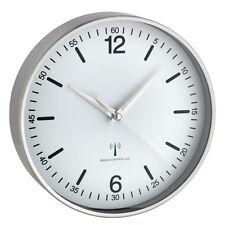 Horloge murale radio-pilotée TFA 60.3503 Locarno de bureau DCF-77 en aluminium