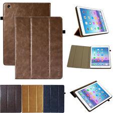 Premium Leder Cover für Apple iPad 234 Schutz Hülle Tablet Smart Case Etui