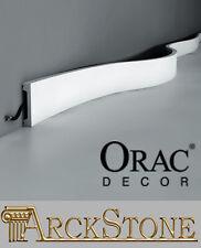 Battiscopa Cornice Orac Decor SX157F SX 157 F SX157 Bianco Flex 200x6,6x1,3 cm