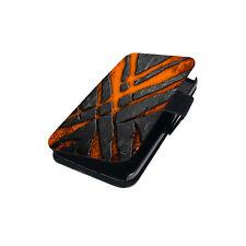 Flip Tasche für Handy Cover Book Style Case Schutz Hülle Etui Wallet Motiv