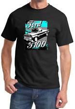 1961-66 Ford F-100 F100 Truck Classic Retro Design Tshirt NEW FREE SHIPPING
