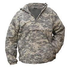 Digital Camouflage à Capuche Anorak-Champ Veste Blouse Manteau Kaki Camouflage Toutes Les Tailles